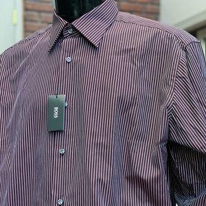 HUGO BOSS BRAND NEW✨STRIPED DRESS SHIRT